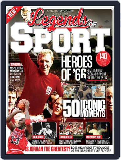 Legends Of Sport Magazine (Digital) July 1st, 2016 Issue Cover