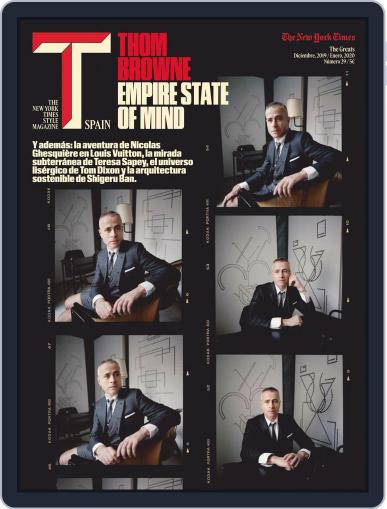 T Magazine SPAIN Magazine (Digital) Cover