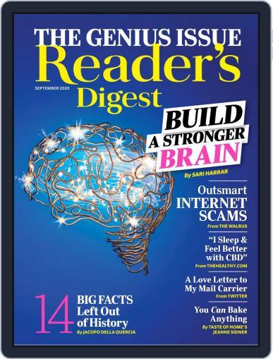 Reader's Digest Digital Magazine September 1st, 2020 Issue Cover