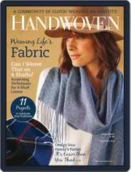 Handwoven (Digital) Subscription March 1st, 2018 Issue