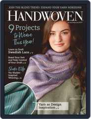 Handwoven (Digital) Subscription January 1st, 2019 Issue