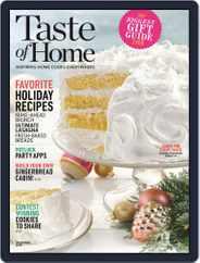 Taste of Home (Digital) Subscription December 1st, 2018 Issue