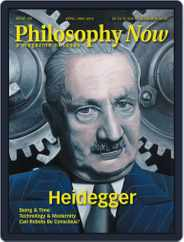 Philosophy Now (Digital) Subscription April 1st, 2018 Issue