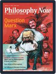 Philosophy Now (Digital) Subscription April 1st, 2019 Issue