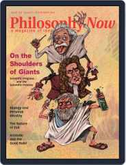 Philosophy Now (Digital) Subscription August 1st, 2019 Issue