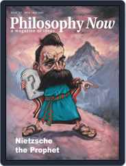Philosophy Now (Digital) Subscription April 1st, 2020 Issue