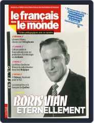 Le Français Dans Le Monde (Digital) Subscription November 5th, 2019 Issue