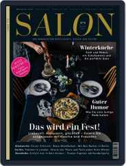 Salon (Digital) Subscription December 1st, 2016 Issue