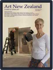 Art New Zealand (Digital) Subscription September 1st, 2017 Issue