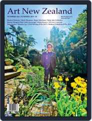 Art New Zealand (Digital) Subscription October 1st, 2017 Issue