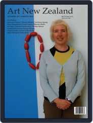 Art New Zealand (Digital) Subscription September 1st, 2018 Issue