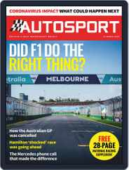 Autosport (Digital) Subscription March 19th, 2020 Issue