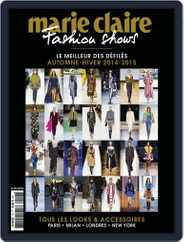 Marie Claire Fashion Shows (Digital) Subscription May 5th, 2014 Issue
