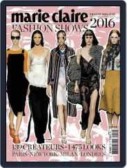 Marie Claire Fashion Shows (Digital) Subscription November 26th, 2015 Issue