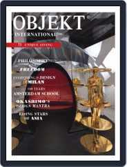 OBJEKT International (Digital) Subscription September 1st, 2016 Issue