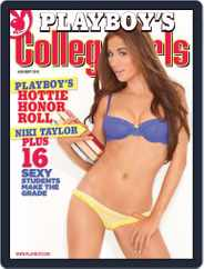 Playboy's College Girls (Digital) Subscription July 3rd, 2012 Issue