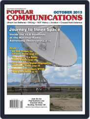 Popular Communications (Digital) Subscription October 1st, 2013 Issue