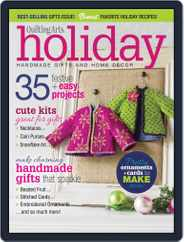 Quilting Arts Holiday Magazine (Digital) Subscription August 29th, 2014 Issue