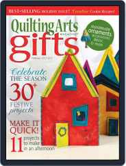Quilting Arts Holiday Magazine (Digital) Subscription September 5th, 2012 Issue