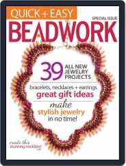 Quick & Easy Beadwork Magazine (Digital) Subscription October 1st, 2013 Issue