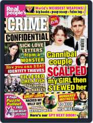 Real People's Crime Confidential Magazine (Digital) Subscription December 31st, 2013 Issue