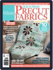 Quilts From Precut Fabrics Magazine (Digital) Subscription January 1st, 2013 Issue