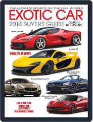 Exotic Car Buyers Guide Magazine (Digital) Subscription January 1st, 2014 Issue
