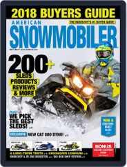 American Snowmobiler Magazine (Digital) Subscription October 1st, 2017 Issue