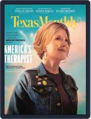 Texas Monthly (Digital) Subscription June 1st, 2020 Issue