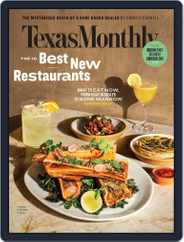 Texas Monthly (Digital) Subscription March 1st, 2020 Issue