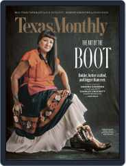 Texas Monthly (Digital) Subscription December 1st, 2019 Issue