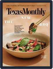 Texas Monthly (Digital) Subscription May 1st, 2019 Issue