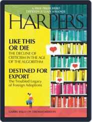 Harper's (Digital) Subscription April 1st, 2019 Issue