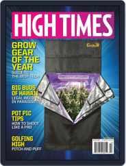 High Times (Digital) Subscription October 1st, 2019 Issue