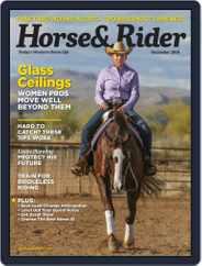 Horse & Rider (Digital) Subscription December 1st, 2018 Issue
