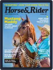Horse & Rider (Digital) Subscription October 1st, 2018 Issue