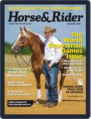 Horse & Rider (Digital) Subscription September 1st, 2018 Issue