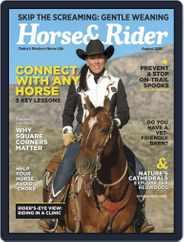 Horse & Rider (Digital) Subscription August 1st, 2018 Issue