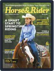 Horse & Rider (Digital) Subscription March 1st, 2018 Issue