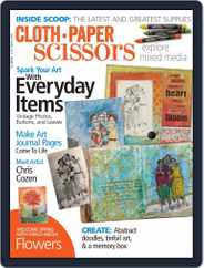 Cloth Paper Scissors (Digital) Subscription May 1st, 2017 Issue
