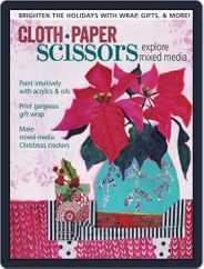 Cloth Paper Scissors (Digital) Subscription November 1st, 2016 Issue