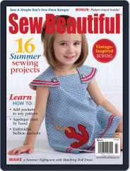 Sew Beautiful (Digital) Subscription April 25th, 2014 Issue