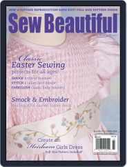 Sew Beautiful (Digital) Subscription December 31st, 2013 Issue