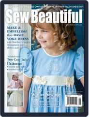Sew Beautiful (Digital) Subscription November 5th, 2013 Issue