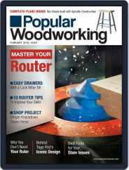 Popular Woodworking (Digital) Subscription February 1st, 2019 Issue