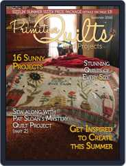 Primitive Quilts And Projects (Digital) Subscription March 25th, 2018 Issue