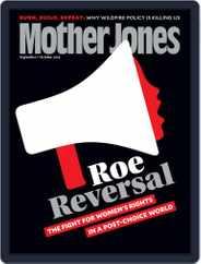 Mother Jones (Digital) Subscription September 1st, 2019 Issue