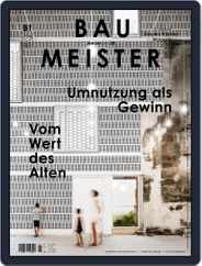 Baumeister (Digital) Subscription January 1st, 2020 Issue