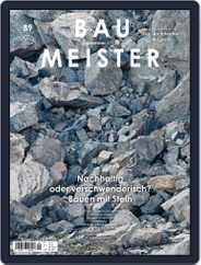 Baumeister (Digital) Subscription September 1st, 2019 Issue