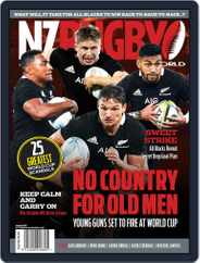 NZ Rugby World (Digital) Subscription October 1st, 2019 Issue